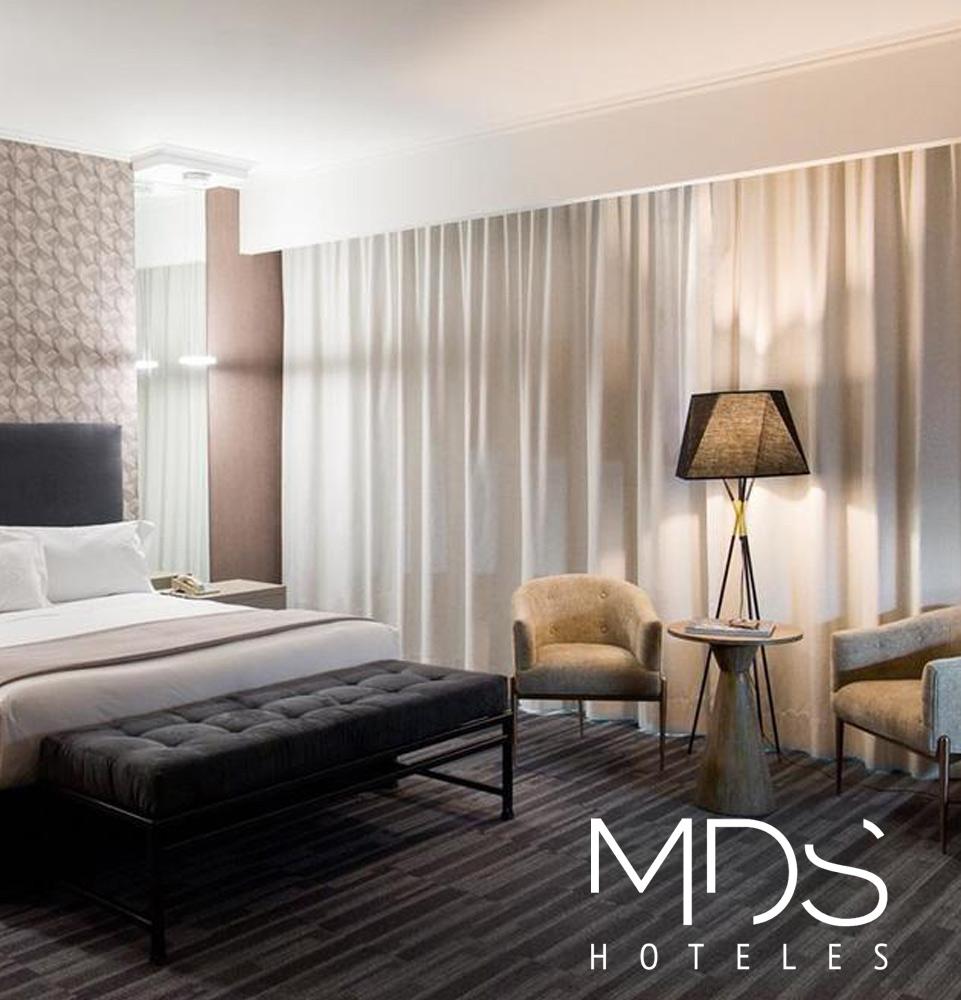 Proyectos cortinas para hotel MDS-Hotel violeta decoraciones