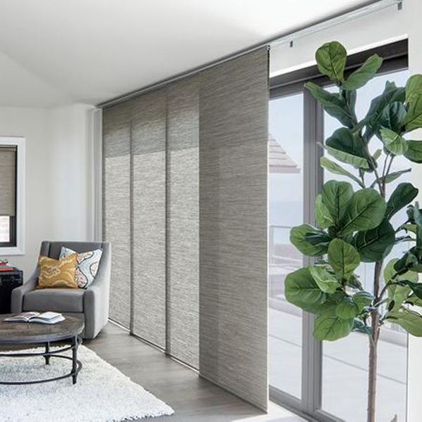 cortinas persianas y penel oriental de violeta decoraciones