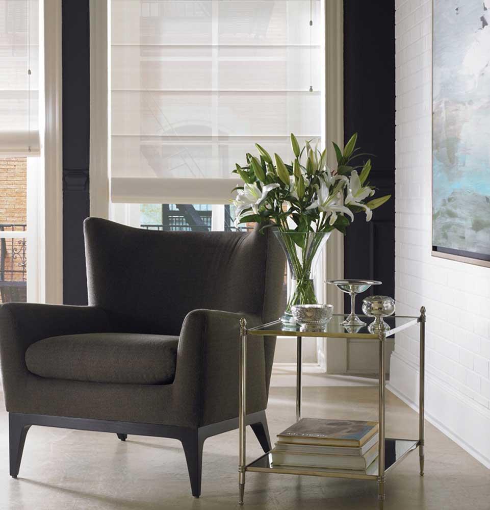 cortina store de lino 6 violeta decoraciones