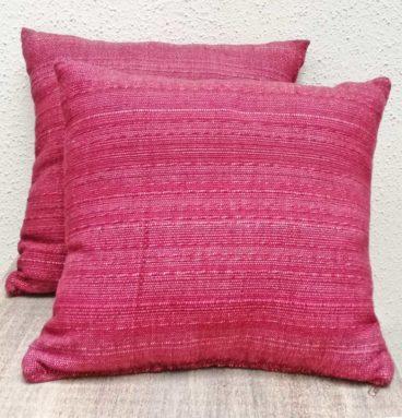 Cojines decorativos color púrpura
