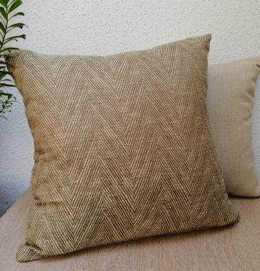 Cojín de lino diseño _espiga_