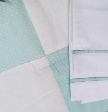 Conjunto de sában y cobertor para moisés