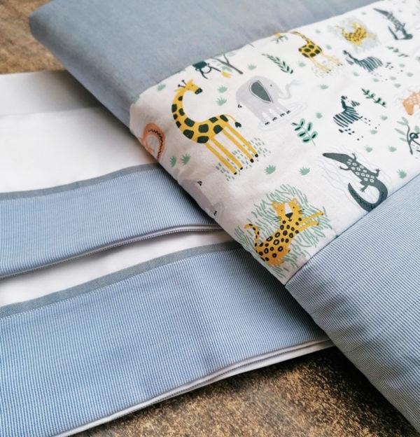 Conjunto de sábana y cobertor para moises